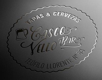 Identidad Casco Vello Bar