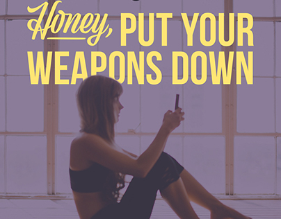 Honey, Put Your Weapons Down Album Art