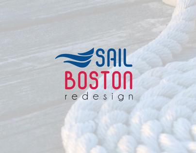 Sail Boston Logo Redesign
