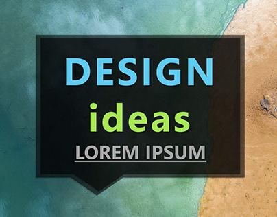 Creative Design Ideas PowerPoint Template