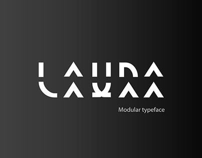 Laura - Modular typeface