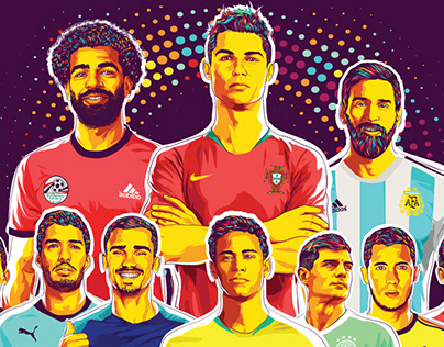 Heroes of world cup 2018