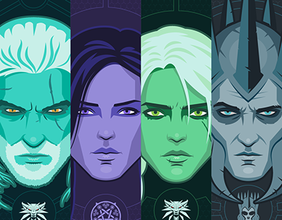 The Witcher III: Wild Hunt / Ilustración