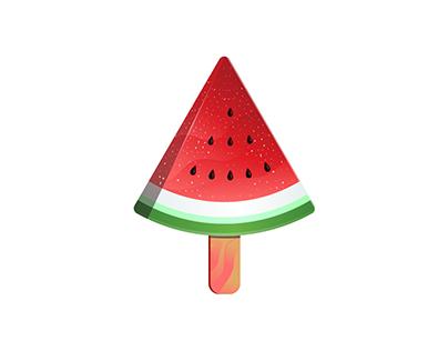 Watermelon Ice Logo