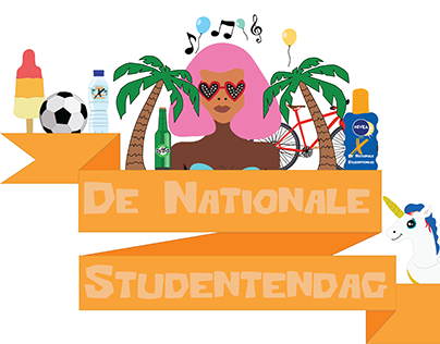 De Nationale Studentendag logo