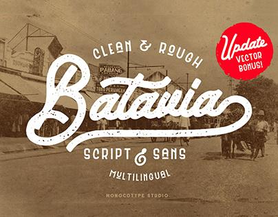 Batavia Script & Sans
