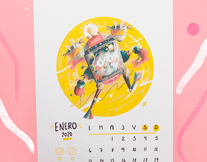 Moztritos Calendar (2020)