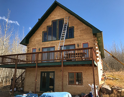 Park County Log Home Repair