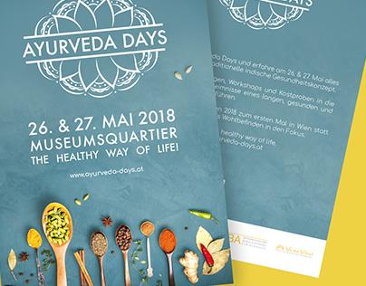 Ayurveda Days 2018 - Brand & Corporate identity