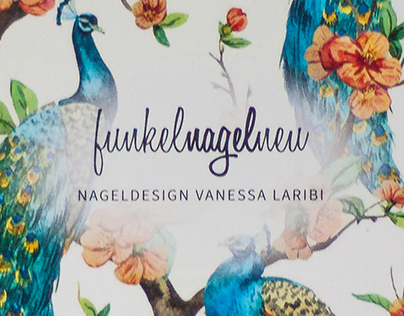 funkelnagelneu | Logo & Flyer (corporate design)