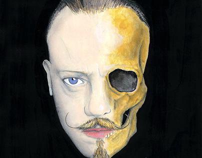Self-portrait, vision of the future.