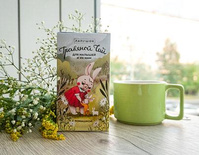 ILLUSTRATION for package of children tea