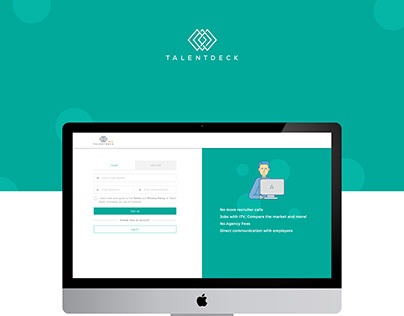 Talent Deck - Sign Up Redesign