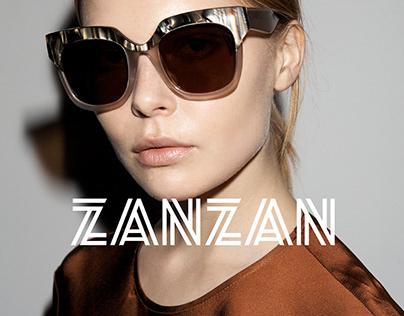 ZANZAN Eyewear Rebrand