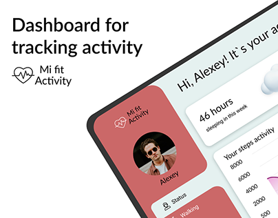 Dashboard for tracking activity