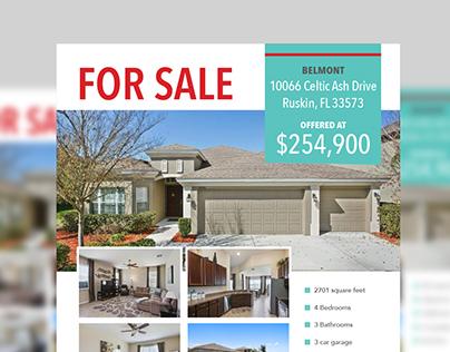 Real Estate - For Sale Flyer