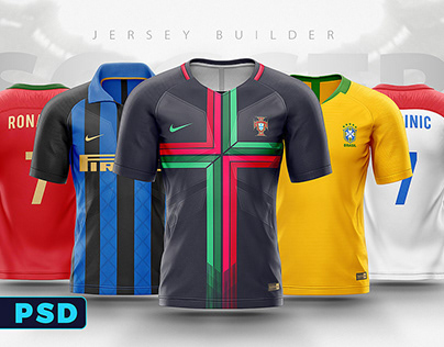 Fifa world cup 2018 football shirt/jersey builder psd