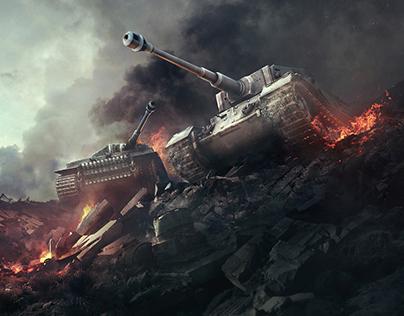 World of Tanks - Homepage revamp