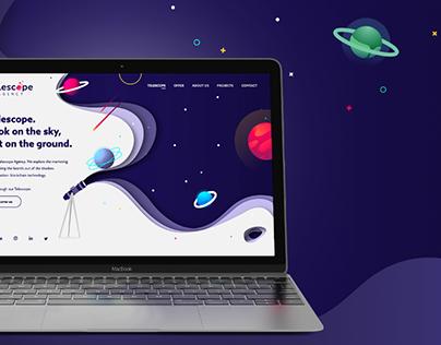 telescopeagency.com website project