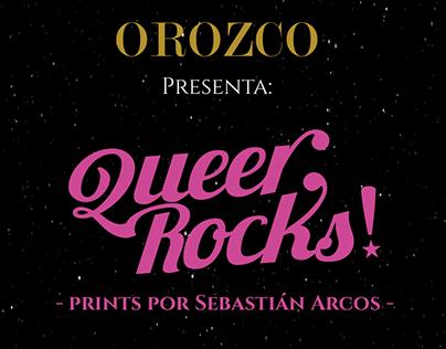 Queer Rocks!: Estampados para el GayPride con Orozco.