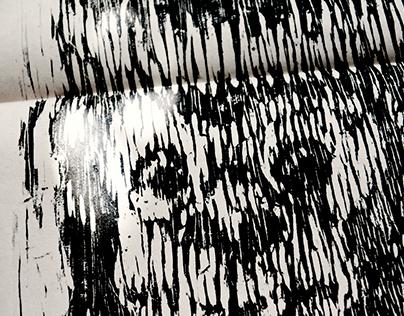 Macaco, 2017 // ESTUDOS EM XILOGRAVURA