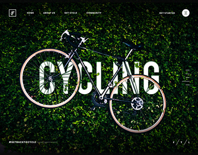 Cycling Hero Image
