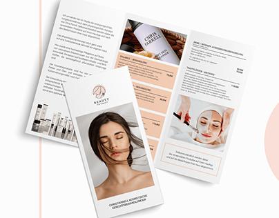 "Corporate Identity für Studio ""Beauty by Tatjana"""