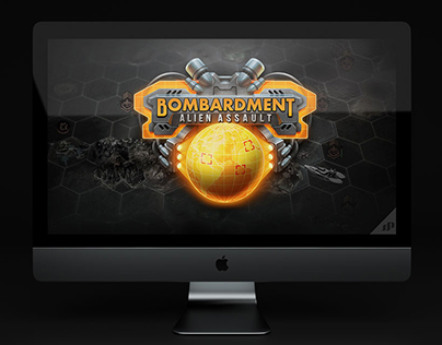 Bombardment Game Logo