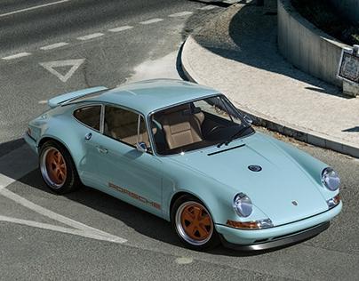 Porsche 911 reimagined by Singer (CGI)