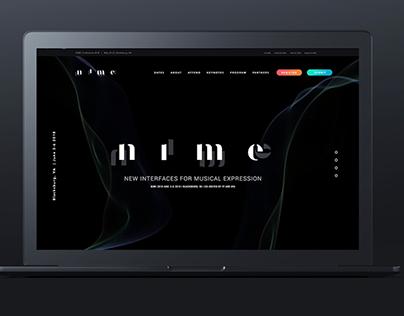NIME Conference Branding