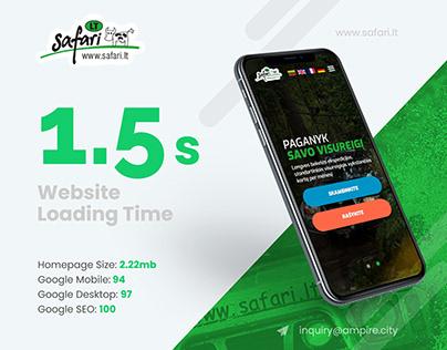 Safari - 4x4 Offroad Full AMP Website