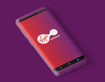 Virgin Connect App. Telecommunications services.