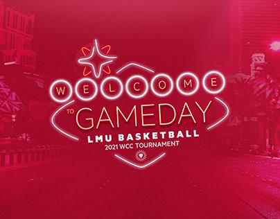 2021 LMU Basketball WCC Tournament
