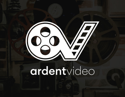 Ardent Video Logo & Identity Design