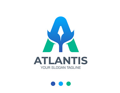 A Letter Logo Design Concept