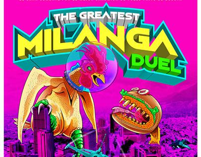 El Gran duelo de Milangas (Milanesas)