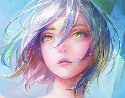 Hair Animation #2