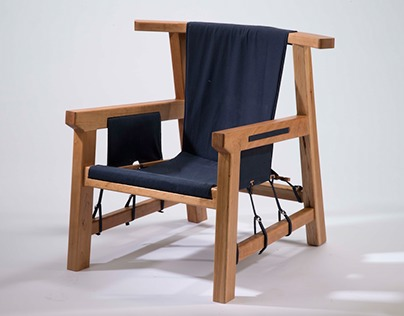 Sling Seat Lounge Chair