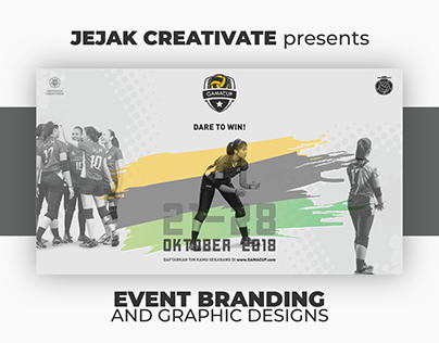 Event Branding and Design Concept of #GAMACUP18