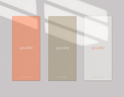 apazible Brand Identity