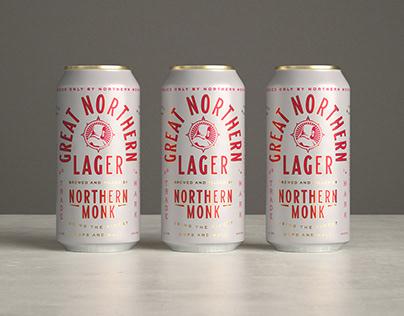 Northern Monk 'Great Northern Lager' x Thirst Craft