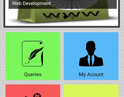 Marshalsoft Android App home screen