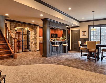 Basement Interior Design  My Next House Project