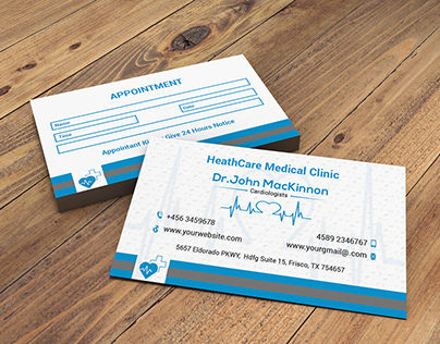 Medical Business Card (Part 1 )