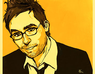 Say Yes More - Danny Wallace Portrait