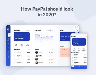 PayPal concept UI design