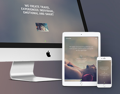 Marble Blue - a responsive and retina optimized Website