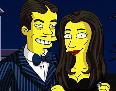 Gomez and Mortisha Addams