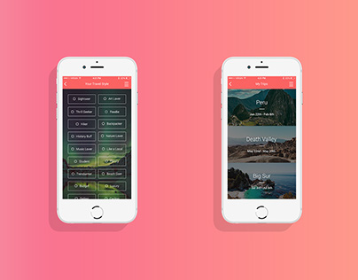 Travelrs App Concept