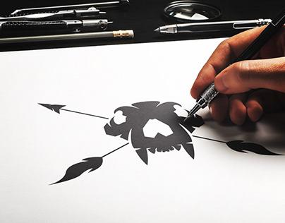 Primal logo design